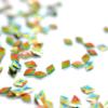 Kép 2/2 - Pearl 3D Gyémánt flitter -  chameleon G1