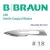 Kép 1/2 - B.Braun Aesculap 18 szikepenge