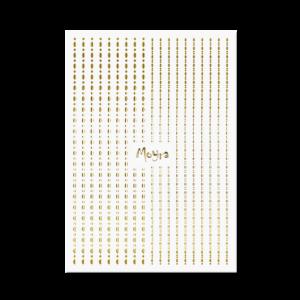 Moyra Körömdíszítő Csík Dots 01
