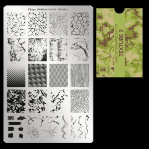 Moyra Körömnyomda lemez 98 Texture 2