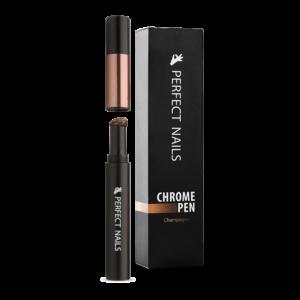 Perfect Nails Chrome Pen - Krómpor Körömdíszítő Toll - Pezsgő