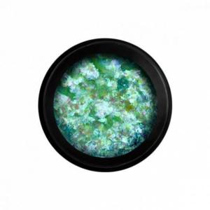 Perfect Nails Color Magic Flakes - Körömdíszítő pehely - Green
