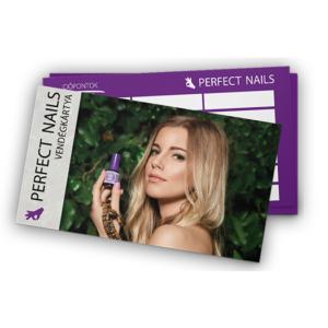 Perfect Nails vendégkártya