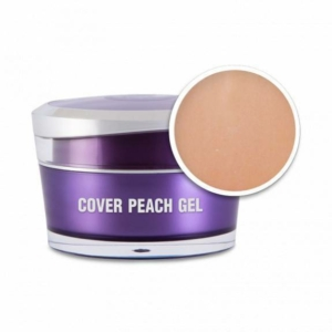 Perfect Nails Cover Peach Gel - Körömágyhosszabbító zselé - 15g