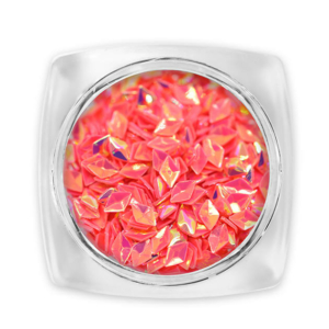 Pearl 3D Gyémánt flitter - korall G5