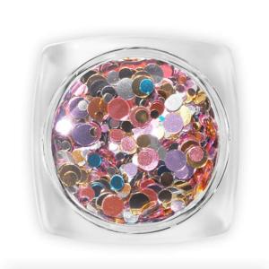 Pearl fémes konfetti D6