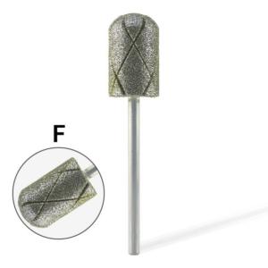 Pearl Hengeres gyémánt csiszolófej pedikűrhöz kereszt vágott (Finom)