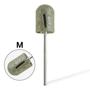 Pearl Hengeres gyémánt csiszolófej pedikűrhöz vágott (Közepes)
