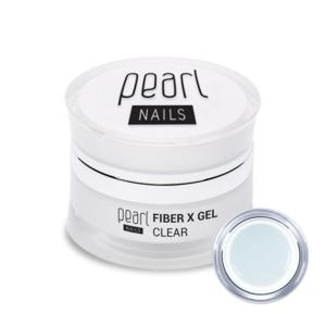 Pearl Fiber X Gel átlátszó építőzselé 15ml