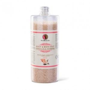 SBS Fürdő- és lábáztató só - Vanilia és jázmin 1320g