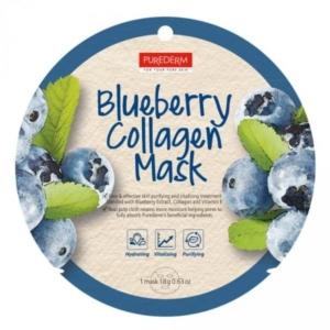 PureDerm Kékáfonya bőrfeszesítő maszk