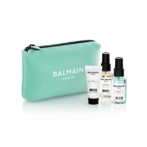 Balmain Limited Edition Cosmetic Bag Pastel Green
