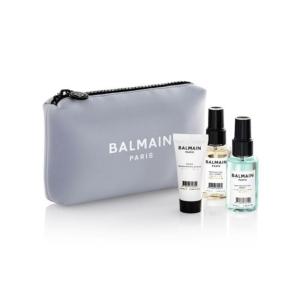Balmain Limited Edition Cosmetic Bag Pastel Lavender