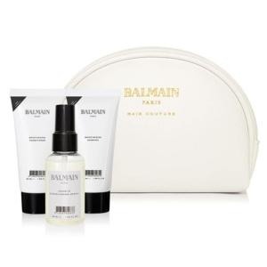 Balmain Cosmetic Bag White Care Bag