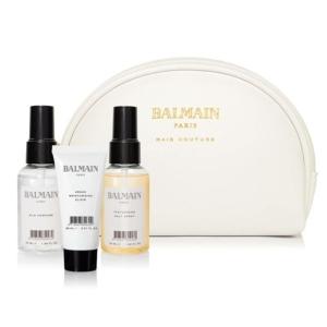 Balmain Cosmetic Bag White Styling Bag