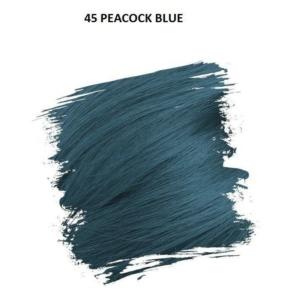 Crazy Color Színezőkrém - 45 peacock blue - 100ml