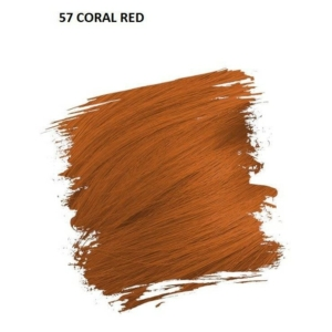Crazy Color Színezőkrém - 57 coral red - 100ml