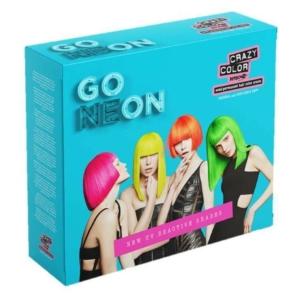 Crazy Color Go Neon 4Darabos UV Szett
