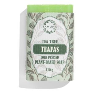 Yamuna Hidegen sajtolt Teafás szappan 110g