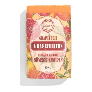 Yamuna Grapefruitos hidegen sajtolt szappan 110g
