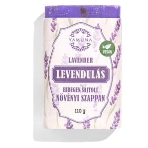 Yamuna Hidegen sajtolt Levendula szappan 110g