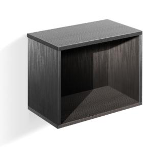 Expedit Cube fekete szekrény