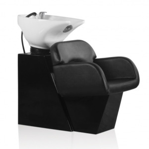 Hair Sage fejmosó fekete talppal és fekete székkel