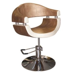 Gold Selective Hidraulikus szék  arany-krém