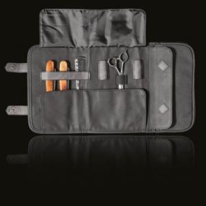 Barber eszköz tároló táska fekete