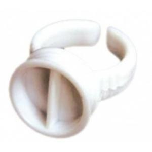 Long Lashes ragasztótartó gyűrű, osztott 2 db