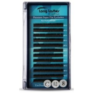 Long Lashes Premium Super Flat Pilla C/ 0,20-8 mm