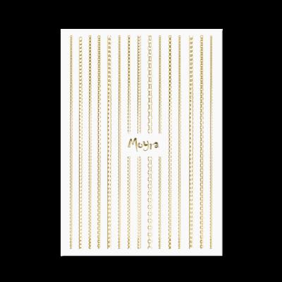Moyra Körömdíszítő Csík Chain 01