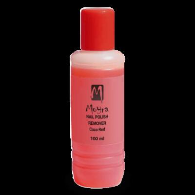 Moyra Acetonmentes Körömlakklemosó (Kókusz illatú) 100 ml