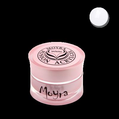 Moyra Fusion Acrylgel fehér 5g