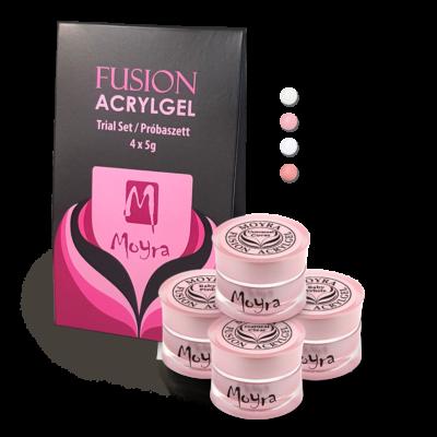 Moyra Fusion Acrylgel Baby Boomer Próbaszett