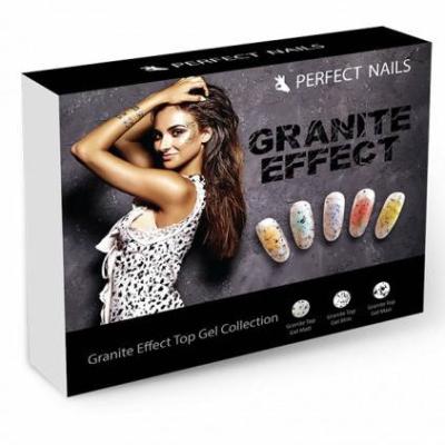 Perfect Nails Gránit Effekt Fényzselé és Fedőzselé Kollekció