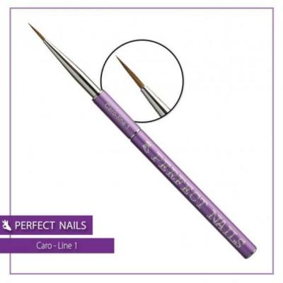 Perfect Nails Caro-line 1 díszítőecset