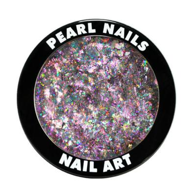 Pearl Galaxy Metal Flakes Pink