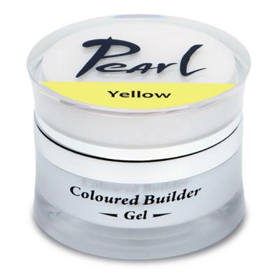 Pearl színes építő zselé Sárga