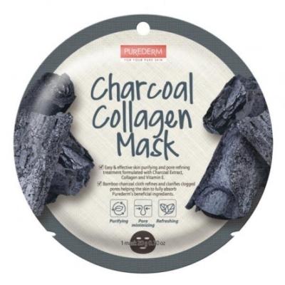 PureDerm Aktív szén mélytisztító maszk