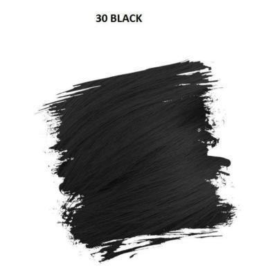 Crazy Color Színezőkrém - 30 black - 100ml