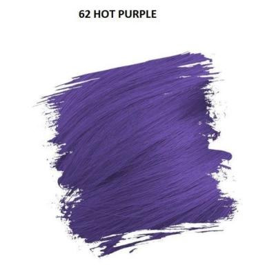 Crazy Color Színezőkrém - 62 hot purple - 100ml