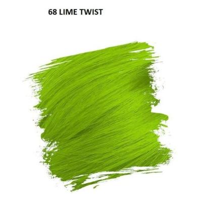 Crazy Color Színezőkrém - 68 lime twist - 100ml