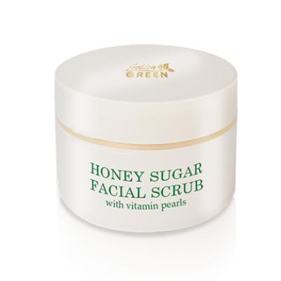 GG NATURE Mézes cukor arcradír vitamin gyöngyökkel 50ml