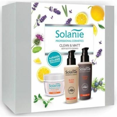 Solanie Bőrtisztító szett + Ajándék törölközővel