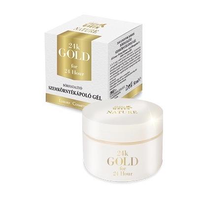 GG Nature 24K Gold Szemkörnyékápoló gél 50ml