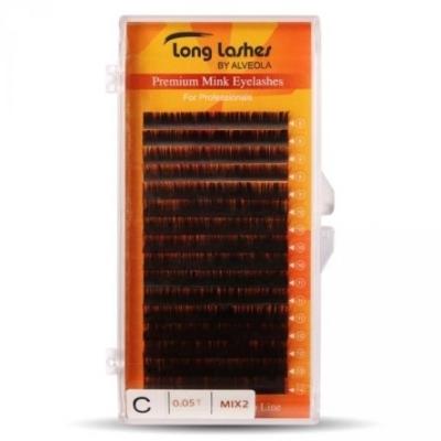 Long Lashes Extreme Volume Mink C/0,05 MIX