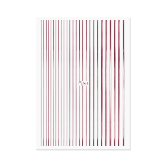 Moyra Körömdíszítő Csík 03