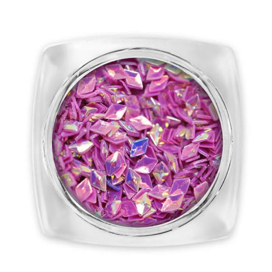 Pearl 3D Gyémánt flitter - lila G3