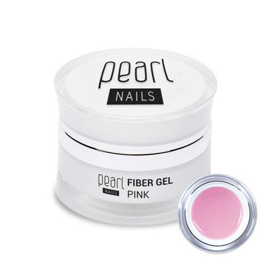 Pearl Fiber Gel rózsaszín építőzselé 5ml
